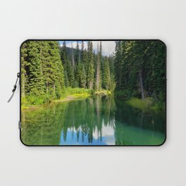 Pacific North West Alpine Lake Laptop Sleeve