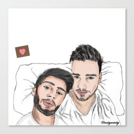 BED!ZIAM Canvas Print