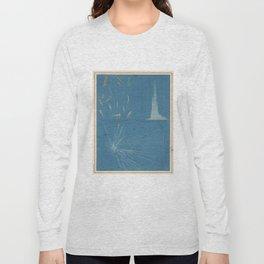 Vintage Meteor Diagram (1869) Long Sleeve T-shirt