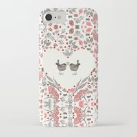 wesley bird iPhone & iPod Cases featuring BIRD by Monika Strigel