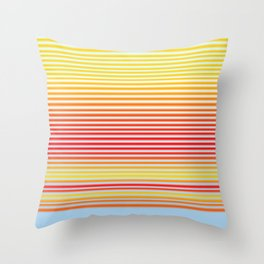 Stripe Gradient Throw Pillow