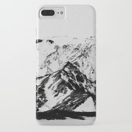 Minimalist Mountains iPhone Case