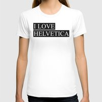 helvetica T-shirts featuring HELVETICA by try2benice
