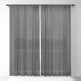 Black Rock Sheer Curtain