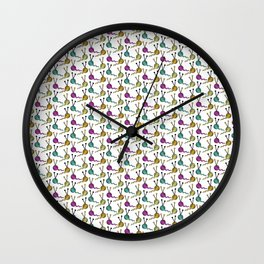 For the Love of Yarn Wall Clock