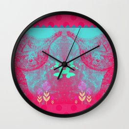 Crazy Butterfly Wall Clock