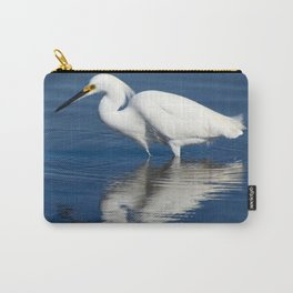 Bird series: Snowy Egret Carry-All Pouch