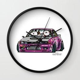 Crazy Car Art 0141 Wall Clock