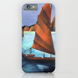 Junks In the Descending Dragon Bay iPhone Case