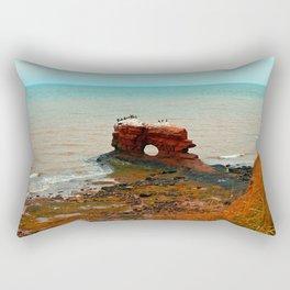 Holy Perch Rectangular Pillow