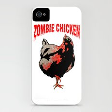 All Fear The Zombie Chicken! iPhone (4, 4s) Slim Case