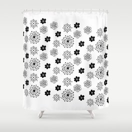 Blossom Doodle Shower Curtain