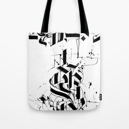 CALLIGRAPHY N°6 ZV Tote Bag