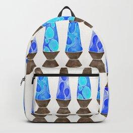 Retro Vibes – Blue Palette Backpack