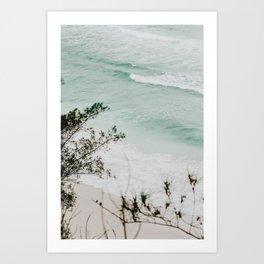 summer waves xv / arraial do cabo, brazil Art Print
