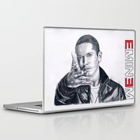 rap Laptop & iPad Skins featuring Rap God! by DrewzDesignz