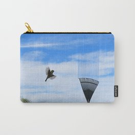 Silvereye saw it in the sky Carry-All Pouch