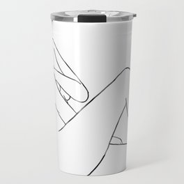 line art 2 Travel Mug