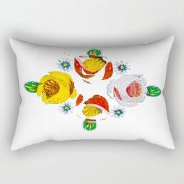 Canal roses of noproblem Rectangular Pillow
