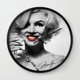 """""""Keep smiling, because life is a beautiful thing and there's so much to smile about."""" Wall Clock"""