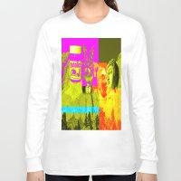 rushmore Long Sleeve T-shirts featuring Mountain Rushmore  by Latidra Washington