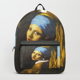 Girl with the Pearl Earring Original Backpack