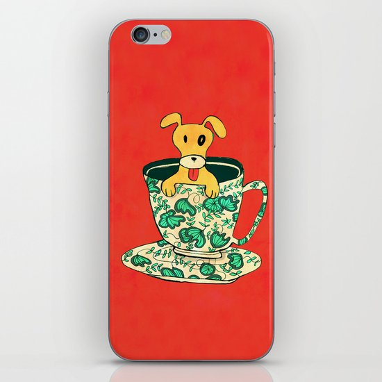 Dinnerware Sets - puppy in a teacup iPhone & iPod Skin