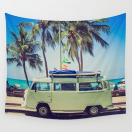 Summer Vacation Road Trip (Beach) Wall Tapestry