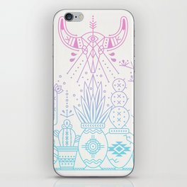 Santa Fe Garden – Rose Quartz & Serenity iPhone Skin