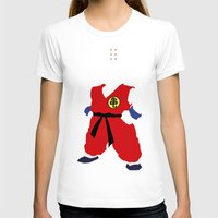 dragonball T-shirts featuring Krillin by JHTY
