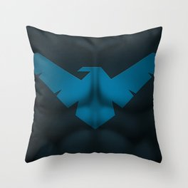 Nightwing2: Superhero Art Throw Pillow
