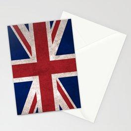 United Kingdom (UK) Flag (Vintage / Distressed) Stationery Cards