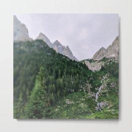 Teton Tilt Shift Metal Print