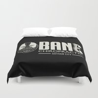 bane Duvet Covers featuring B chiropractic by Buby87