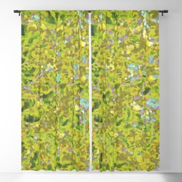Yellow Wildflower Cluster Hip #1 Blackout Curtain