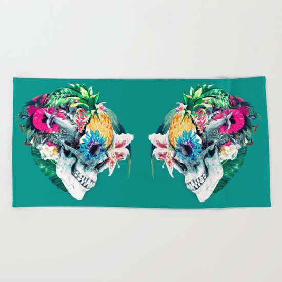 Skull ST Beach Towel