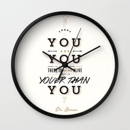 Dr. Seuss Wall Clock