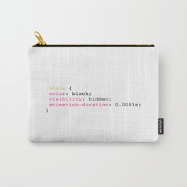 Coding Ninja Carry-All Pouch