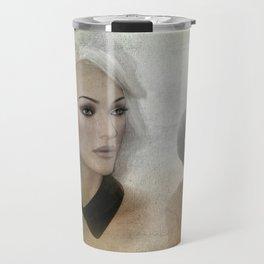in the shop window -100- Travel Mug