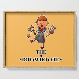 The Boy Who Ate - Ron Weasley Serving Tray