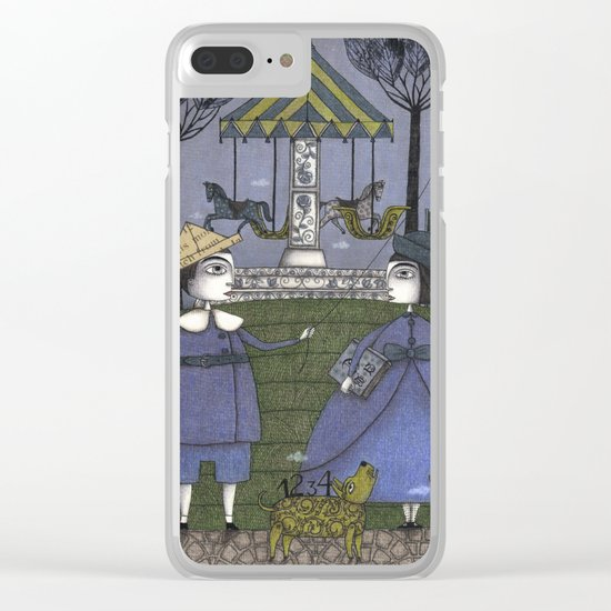 School's Out Clear iPhone Case