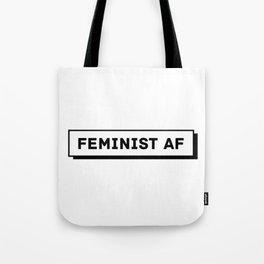 Feminist AF Tote Bag