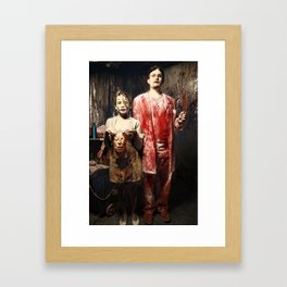 Dr. & Nurse Framed Art Print