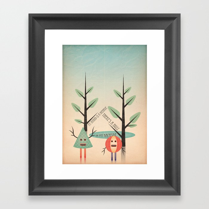 al&bero Framed Art Print