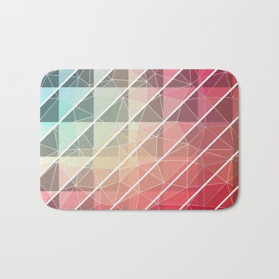 Abstract Geometric Design Bath Mat