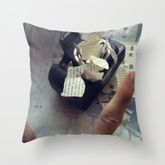 A Thousand Words Throw Pillow