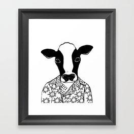 Carmen the Cow Framed Art Print