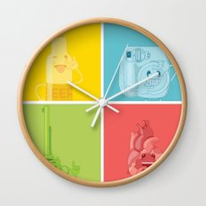 Signs Wall Clock