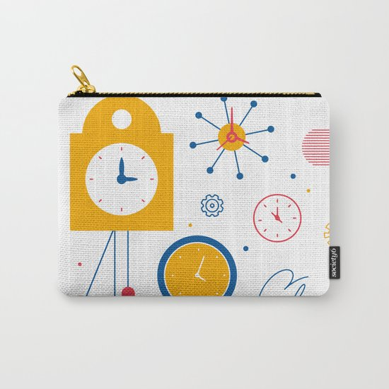 Clocks Carry-All Pouch