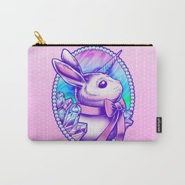 Unicorn Bunny Carry-All Pouch